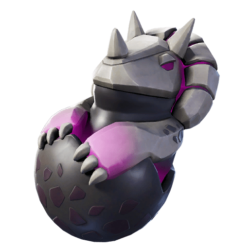 Fortnite v11.01 Leaked Back Bling - Dark Hatchling