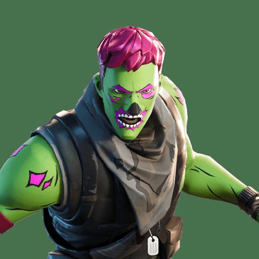 Fortnite v11.01 Leaked Brainiac Skin Style