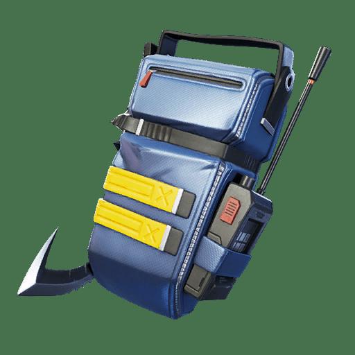 Fortnite v11.10 Leaked Back Bling - Shortwave