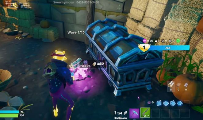 Fortnite Retribution Collect Resources