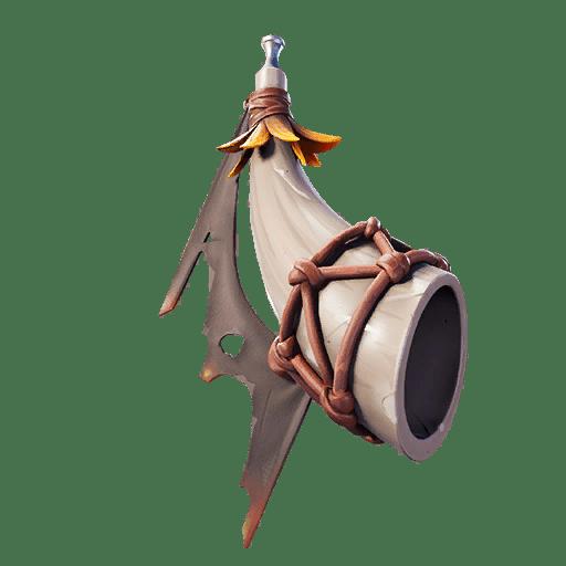 Fortnite v11.20 Leaked Back Bling - Hollow Horn
