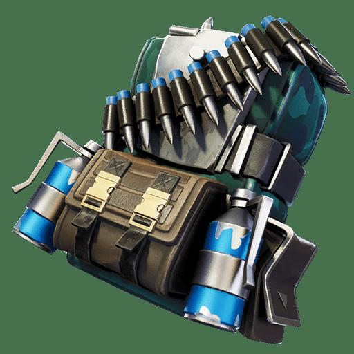 Fortnite v11.20 Leaked Back Bling - Wavepiercer