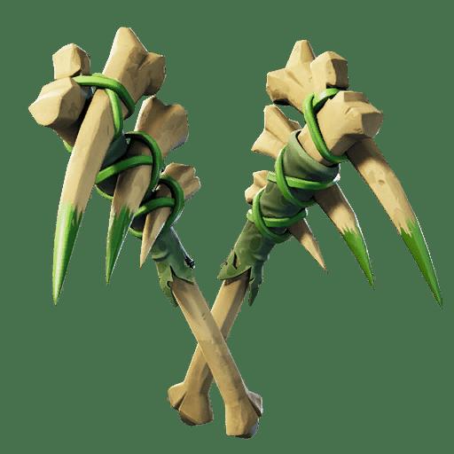 Fortnite v11.20 Leaked Pickaxe - Bone Fangs