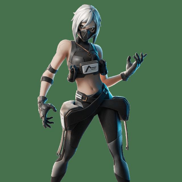 Fortnite v11.20 Leaked Skin - Hush