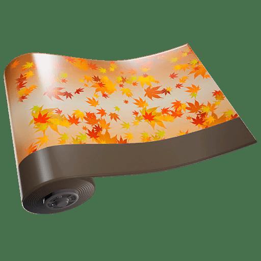 Fortnite v11.20 Leaked Wrap - Falling Leaf