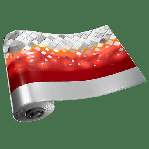 Fortnite v11.20 Leaked Wrap - Silver Flame