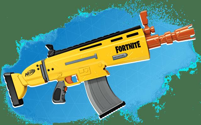 Scar Fortnite Nerf Gun