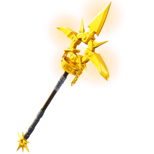 Fortnite v11.40 Leaked Pickaxe - Gilded Scepter