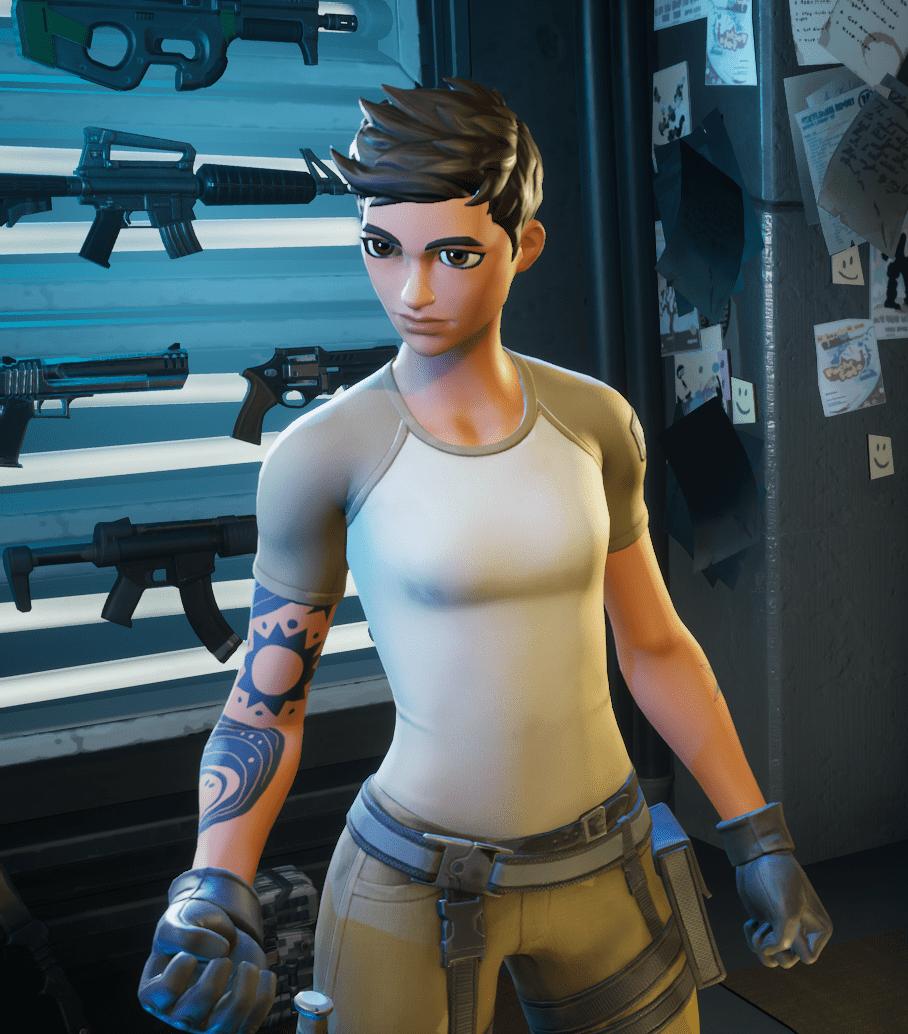 Fortnite Maya Hairstyle Option 4 - Pixie