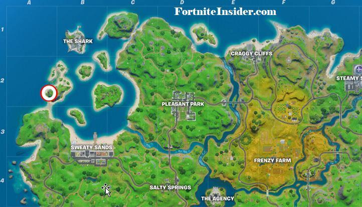 Coral Cove Fortnite Location