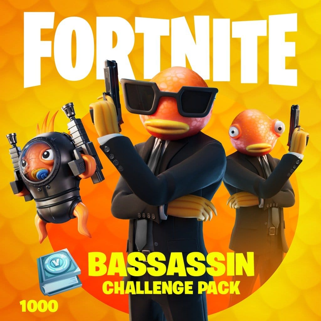 Fortnite Bassassin Challenge Pack