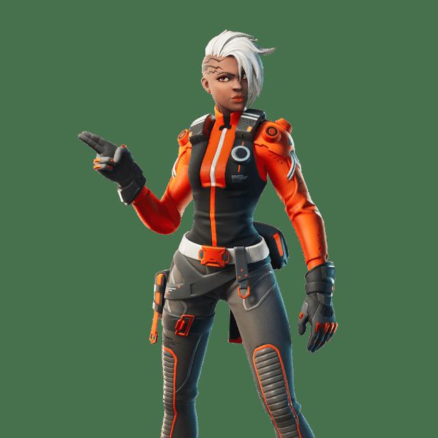 Fortnite v12.20 Leaked Skin - Blockade Runner