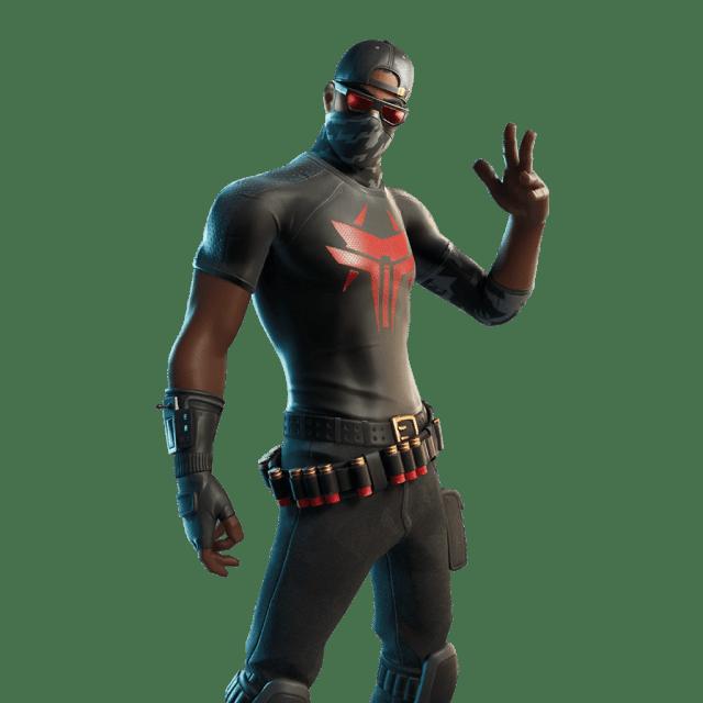 Fortnite v12.20 Leaked Skin - Crimson Elite