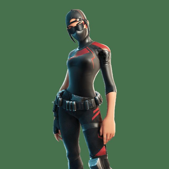 Fortnite v12.20 Leaked Skin - Scarlet Commander