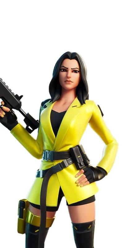 Fortnite v12.50 Leaked Skin - Yellowjacket