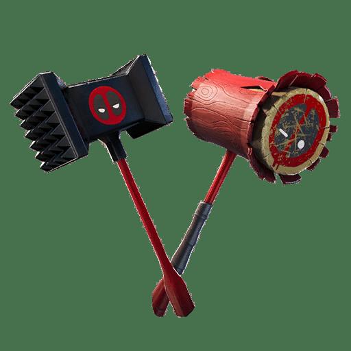 Meaty Mallets Deadpool Fortnite Pickaxe