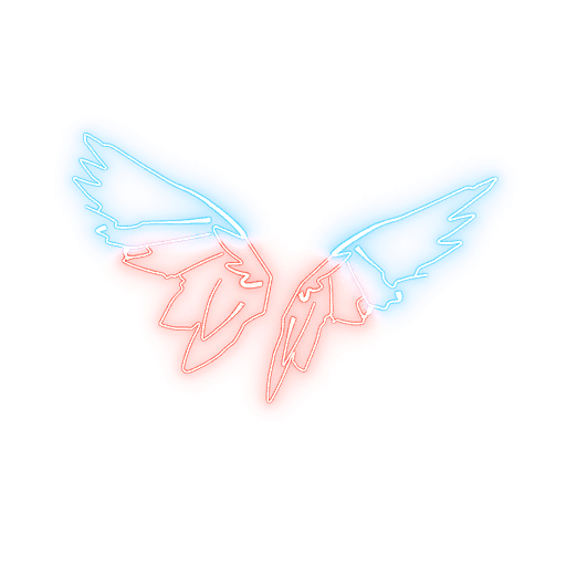 Neon Wings Fortnite Back Bling
