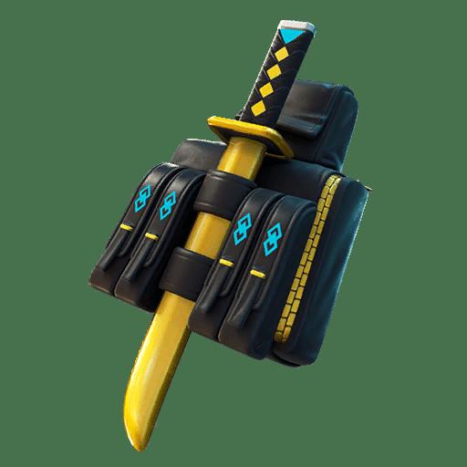 Fortnite v12.50 Leaked Back Bling - Backstabber