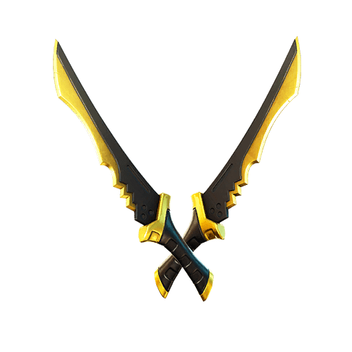 Fortnite v13.20 Leaked Pickaxe - Shadow Blades