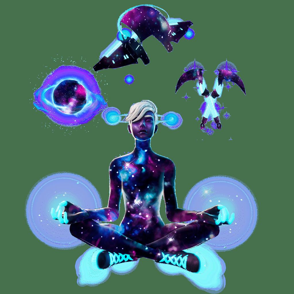 Fortnite Galaxy Set/pack