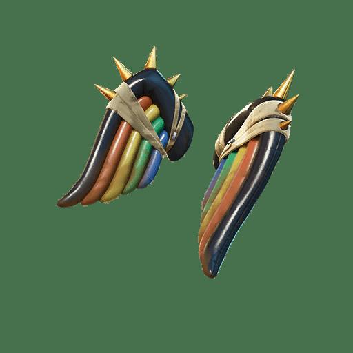 Fortnite v13.20 Leaked Back Bling - Weathered Wings