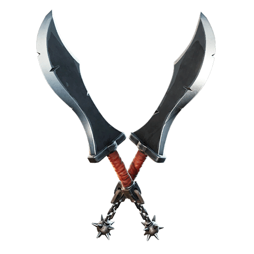 Fortnite v13.20 Leaked Pickaxe - Flail Blades