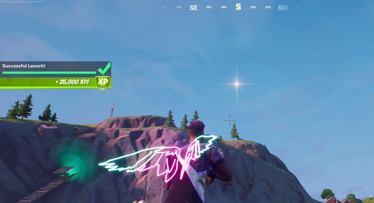 Fortnite Ancient Astronaut Challenges completed