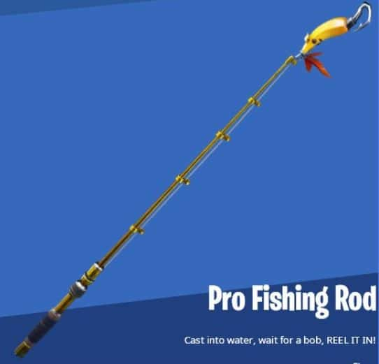 Pro Fishing Rod Fortnite