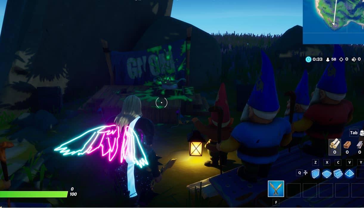 Fortnite Secret Quest - Gnom Talk Free XP