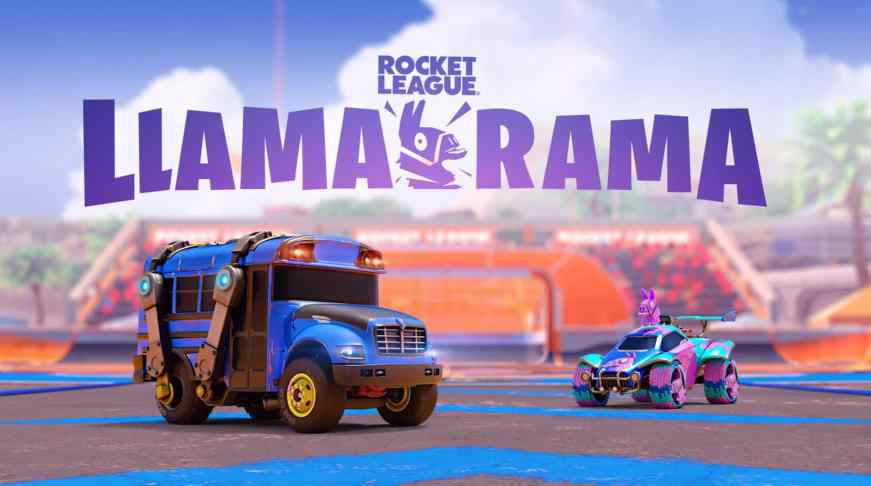 Fortnite x Rocket League Llama-Rama Event - Free Cosmetics ...