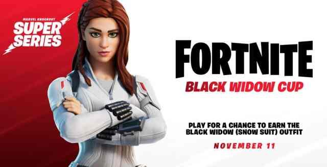 Black Widow Fortnite Marvel Cup