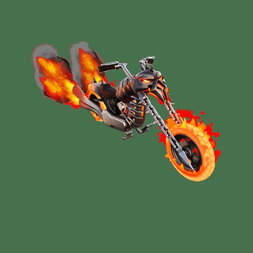 Fortnite Marvel Ghost Rider Glider Leaked- Ghost Glider