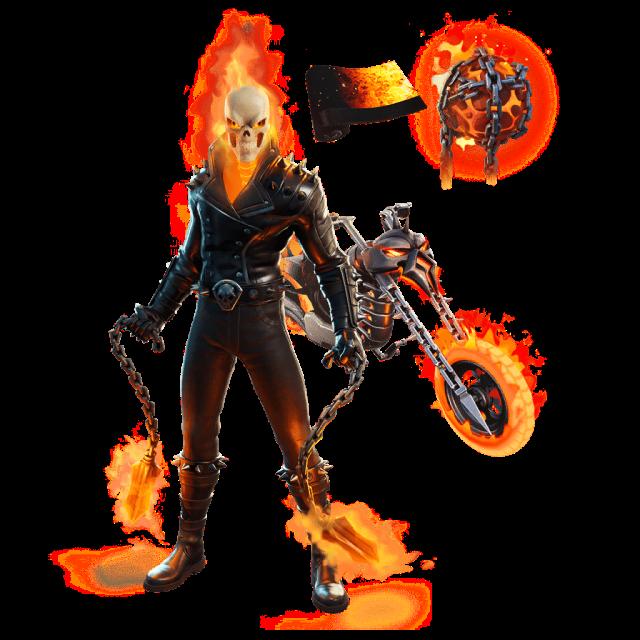 Fortnite Marvel Ghost Rider Set Leaked