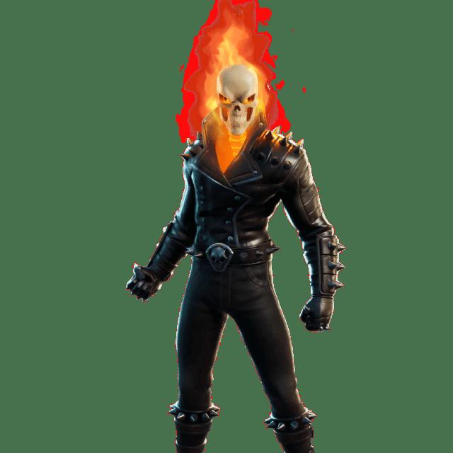 Fortnite Marvel Ghost Rider Skin Leaked