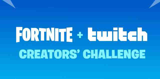 Fortnite Twitch Rewards Creators Challenge