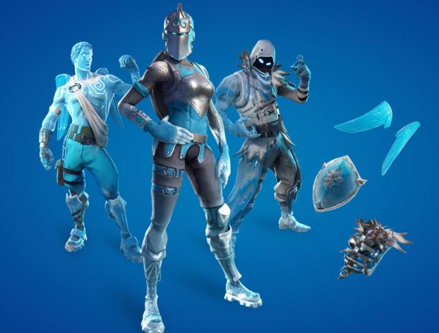 Frozen Legends Fortnite Pack