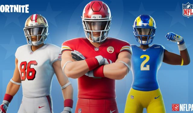 New Fortnite NFL Football Skins