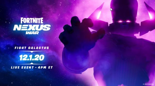 Nexus War Fortnite Event