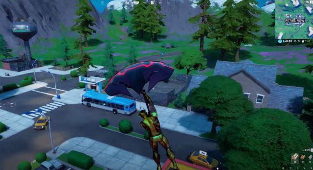 bus locations Fortnite