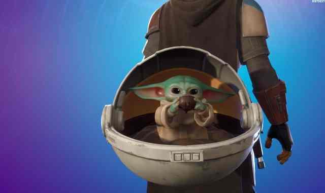 Baby Yoda Fortnite