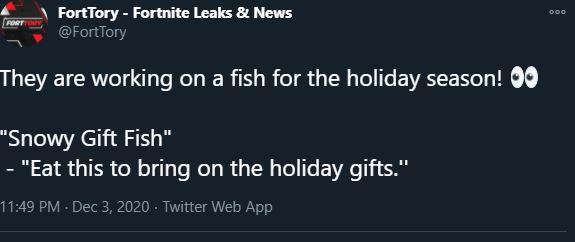 Christmas Fortnite Flopper