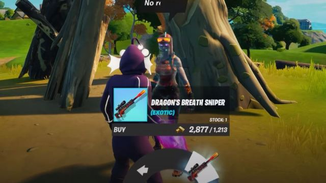 Dragon's Breath Sniper Fortnite