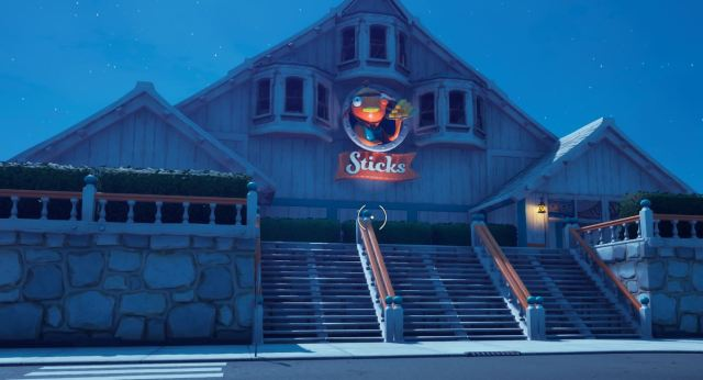 Fishsticks Restaurant Fortnite
