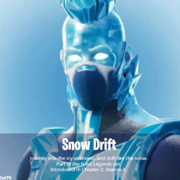 Fortnite Snow Drift