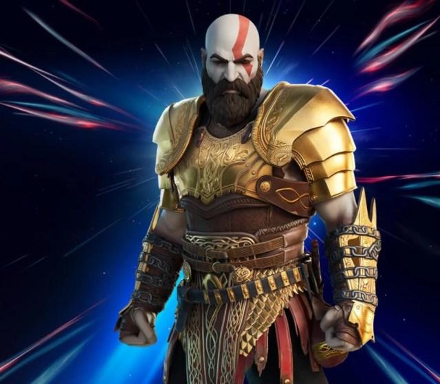 Free Kratos Armored Skin Style