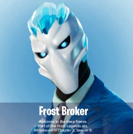 Frost Broker Fortnite