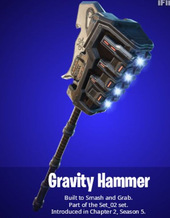 Gravity Hammer Fortnite