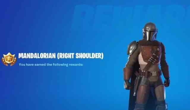 Mandalorian Right Shoulder Armor
