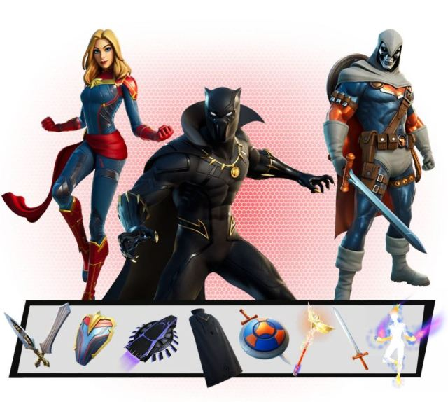 Marvel Royalty and Warriors Pack