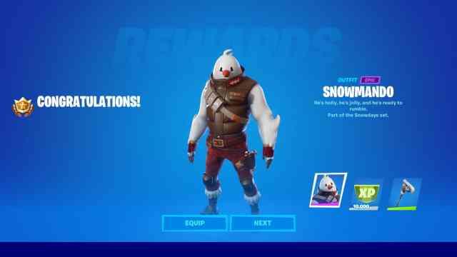Snowmando Fortnite Skin